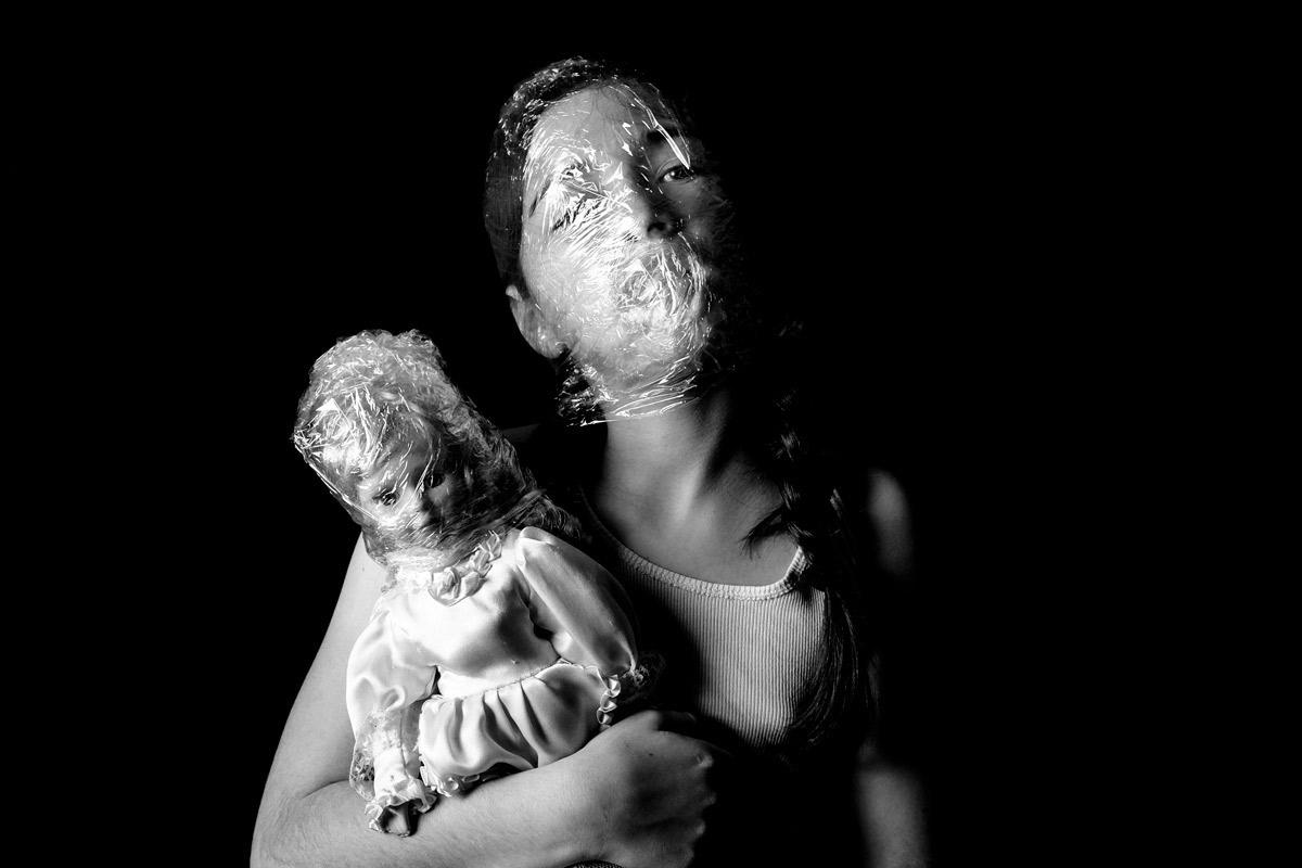 Photo - Julie Lagier - Série BLOW - Chambre noire