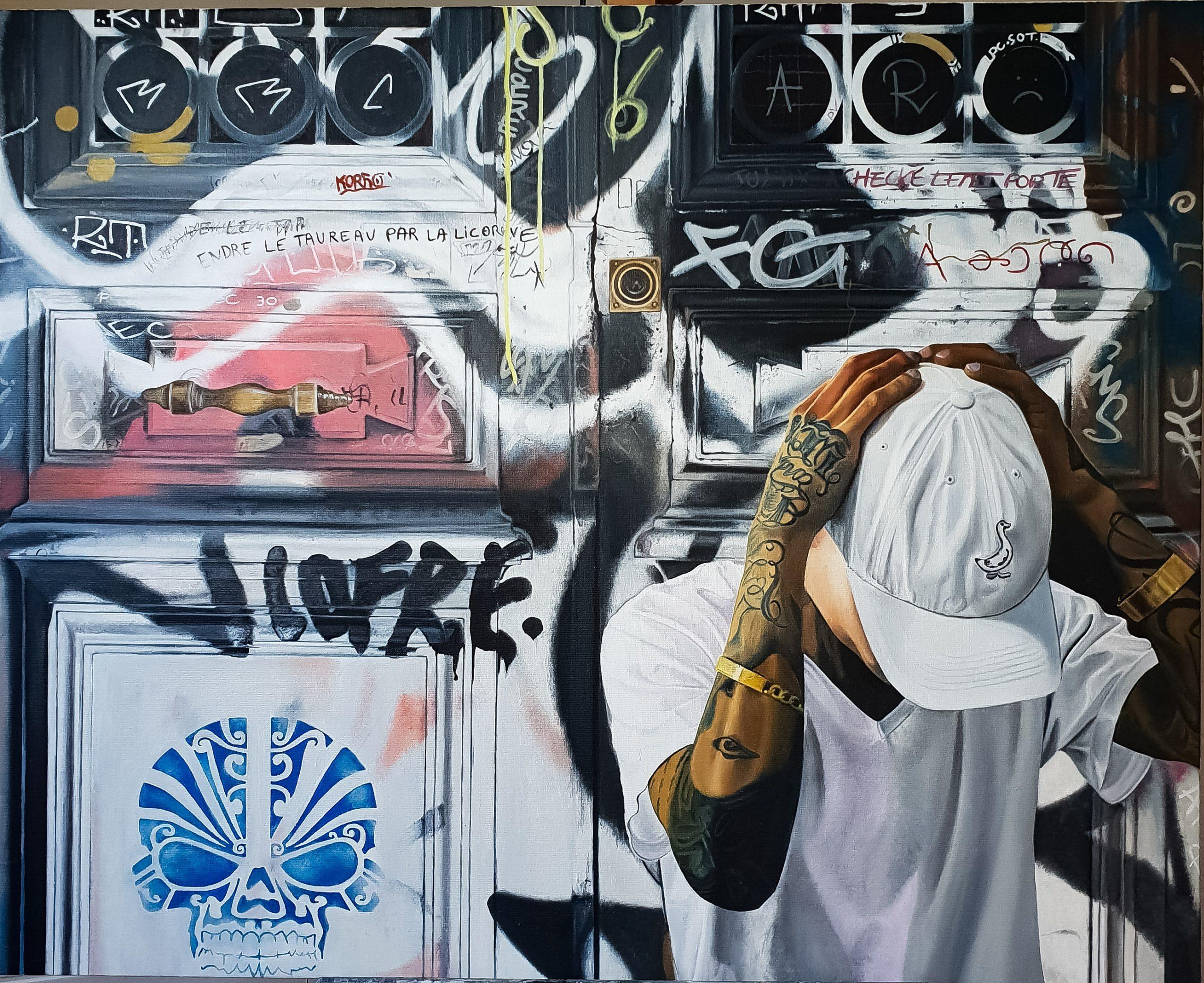 Nicolas Clezio Hyper réalisme Street graffiti