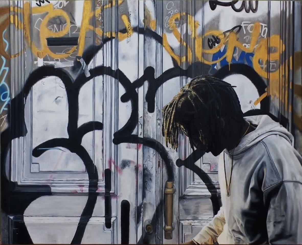 nicolas Clezio hyper réalisme. street art graffiti
