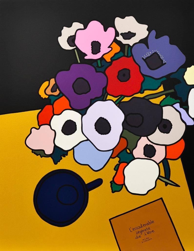 RedLips-nouvelle peinture marseillaise-figuration libre-art marseille- follow your dreams