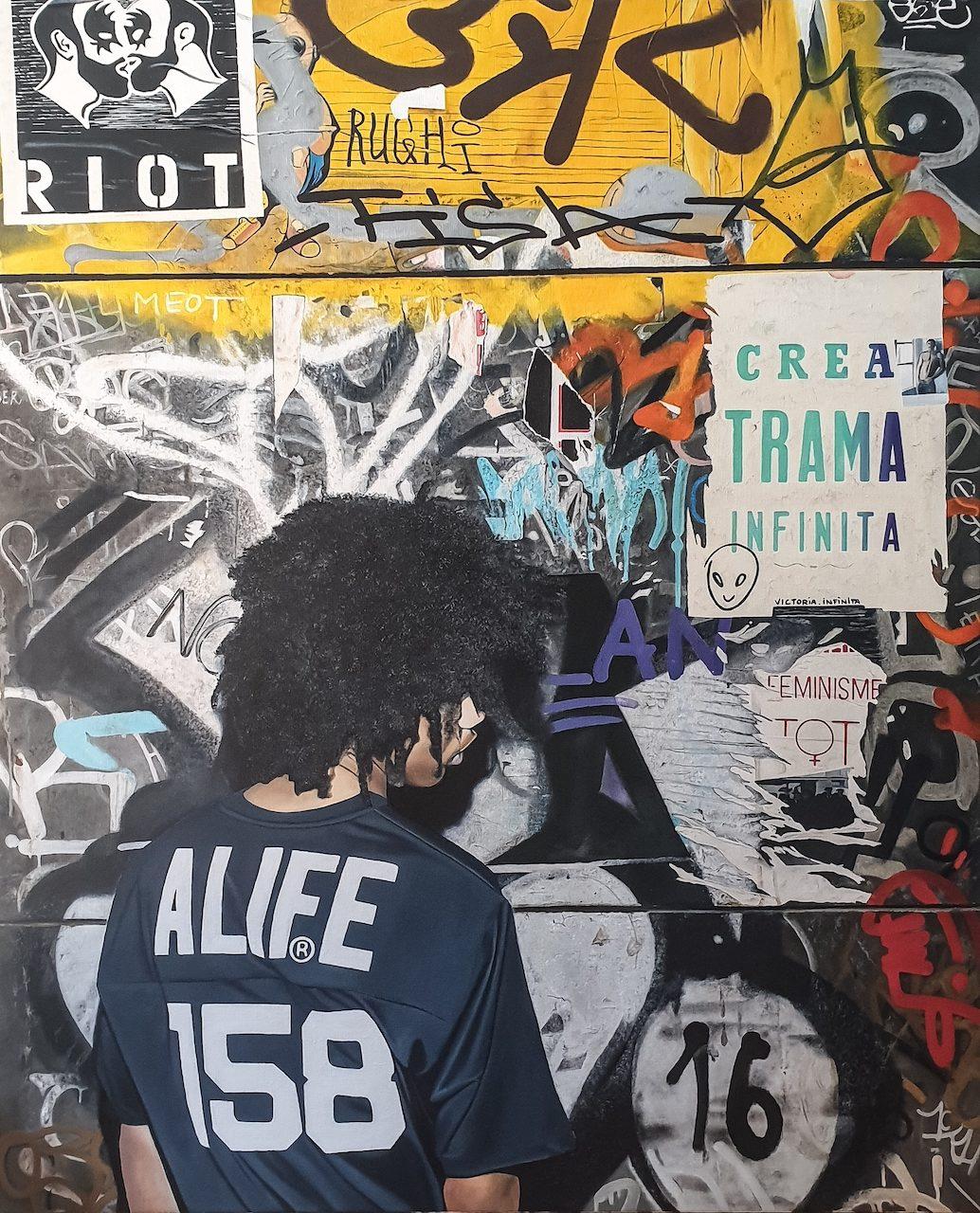 Nicolas Clezio Hyper réalisme Street art graffiti