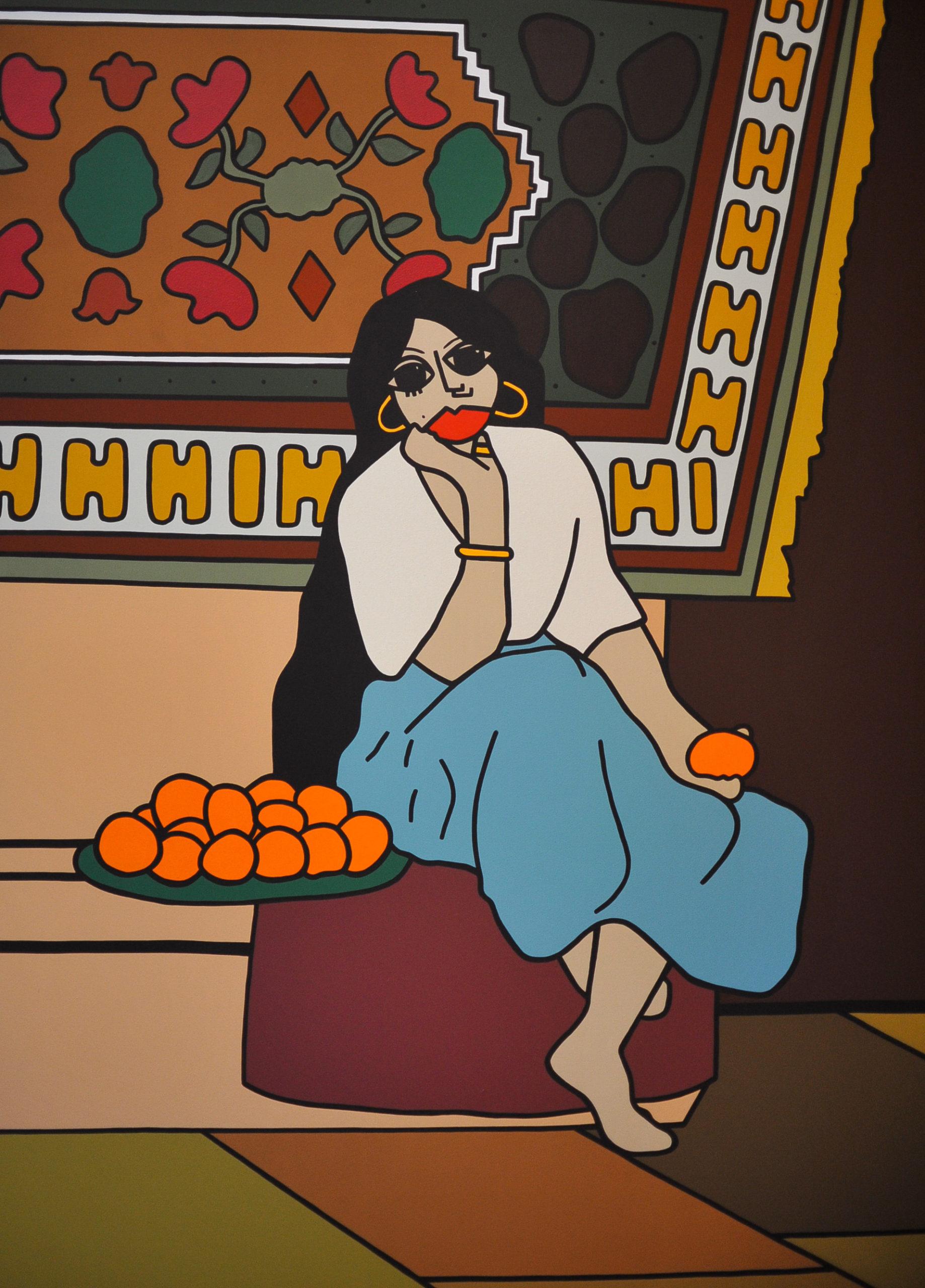 RedLips; nouvelle figuration; marseille; art marseille; follow your dreams; artiste marseillaise; nouveau talent artistique ; modigliani ; matisse; paula becker follow-your-dreams.fr; olivier barriol ; david pluskwa